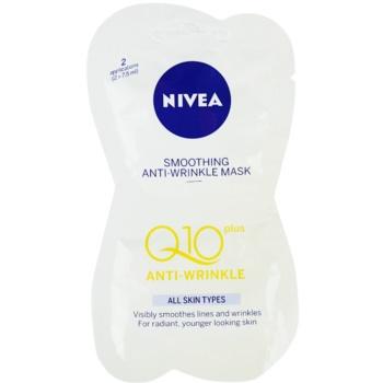 Nivea Visage Q10 Plus masca pentru netezire antirid