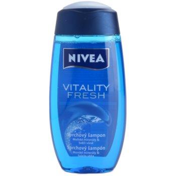 Nivea Men Vitality Fresh sprchový gel na vlasy i tělo 2