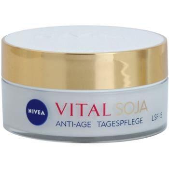 Nivea Visage Vital Multi Active denní krém proti vráskám SPF 15 50 ml