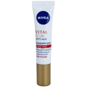 Fotografie Nivea Visage Vital Multi Active oční krém proti vráskám 15 ml