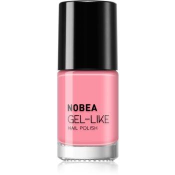 NOBEA Day-to-Day Nagellack mit Geleffekt Farbton Pink Rosé #N02 6 ml