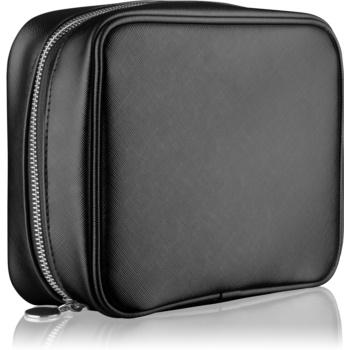 Notino Basic geantă de cosmetice pentru femei, de voiaj neagră (21 × 6,5 × 16,5 cm)