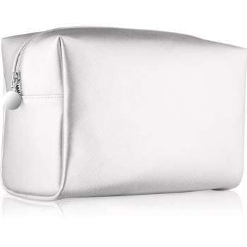 Notino Basic Geantă de cosmetice pentru femei, mare  argint (26 × 16 × 11 cm)