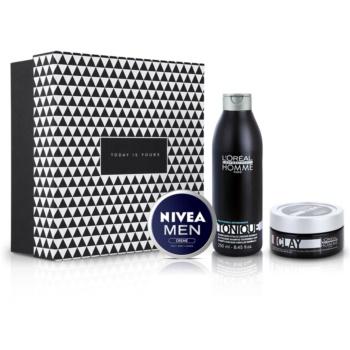 Notino Сила традицій Поживний догляд для волосся та шкіри обличчя для чоловіків