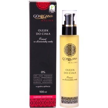 Nova Kosmetyki GoArgan+ Raspberry Körperöl zum nähren und Feuchtigkeit spenden 2