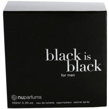 Nuparfums Black Is Black тоалетна вода за мъже 4
