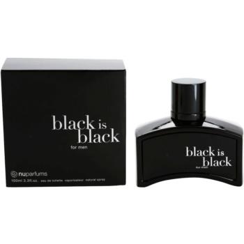 Nuparfums Black Is Black woda toaletowa dla mężczyzn