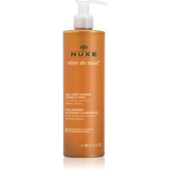 Nuxe Rêve de Miel gel de curatare pentru piele uscata