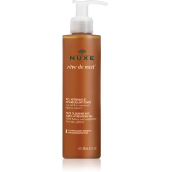 Fotografie Nuxe Reve de Miel čisticí gel pro citlivou a suchou pleť 200 ml