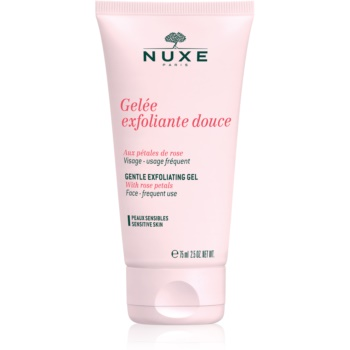 nuxe cleansers and make-up removers exfoliant pentru piele sensibila