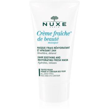 Fotografie Nuxe Crème Fraîche de Beauté zklidňující a hydratační maska pro všechny typy pleti 50 ml