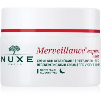Nuxe Merveillance crema regeneratoare de noapte pentru toate tipurile de ten