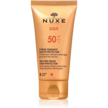 Fotografie Nuxe Sun opalovací krém na obličej SPF 50 50 ml