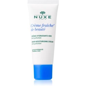 Nuxe Crème Fraîche de Beauté crema calmanta si hidratanta pentru piele normala predispusa la iritatii