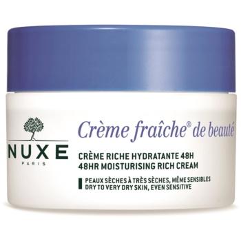 Nuxe Crème Fraîche de Beauté crema hidratanta si hranitoare uscata si foarte uscata