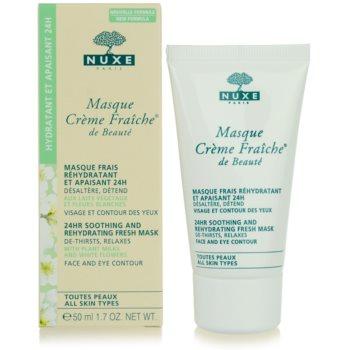 Nuxe Creme Fraîche de Beauté máscara hidratante e apaziguadora  para todos os tipos de pele 3
