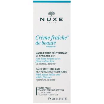 Nuxe Creme Fraîche de Beauté máscara hidratante e apaziguadora  para todos os tipos de pele 2