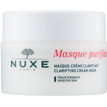 Fotografie Nuxe Cleansers and Make-up Removers čisticí maska pro citlivou pleť 50 ml
