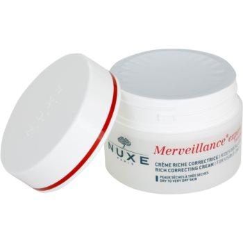 Nuxe Merveillance krem przeciwzmarszczkowy do skóry suchej i bardzo suchej 1