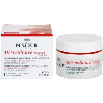 Nuxe Merveillance krem przeciwzmarszczkowy do skóry suchej i bardzo suchej 2