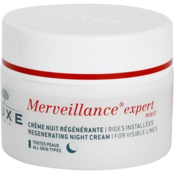 Nuxe Merveillance відновлюючий нічний крем для всіх типів шкіри