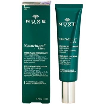 Nuxe Nuxuriance Ultra creme fluido rejuvenescedor para pele normal a mista 1