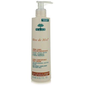 Nuxe Reve de Miel crema de corp pentru piele uscata