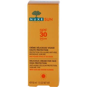 Nuxe Sun слънцезащитен крем за лице SPF 30 3