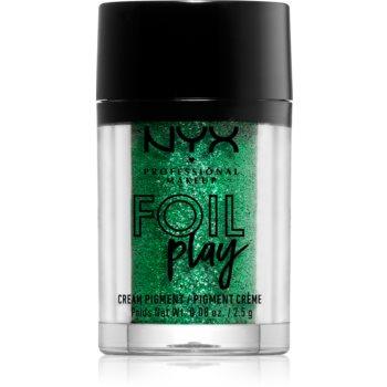 NYX Professional Makeup Foil Play pigment cu sclipici
