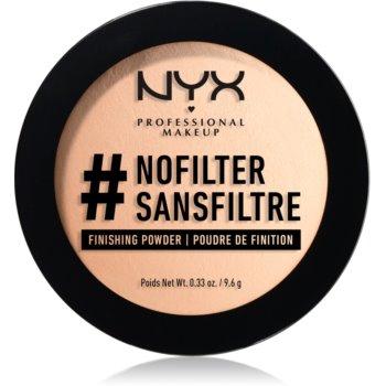 NYX Professional Makeup #Nofilter pudra