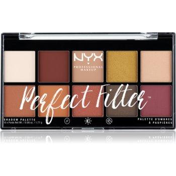 NYX Professional Makeup Perfect Filter Shadow Palette paleta farduri de ochi