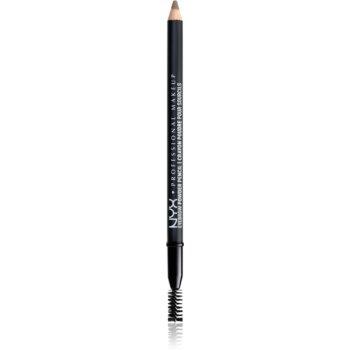 NYX Professional Makeup Eyebrow Powder Pencil creion pentru sprancene poza noua