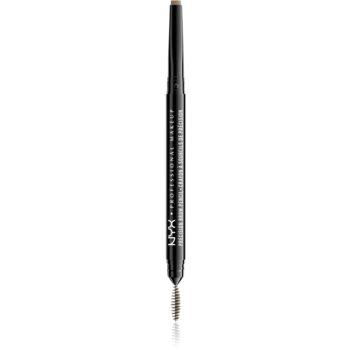 NYX Professional Makeup Precision Brow Pencil creion pentru sprancene