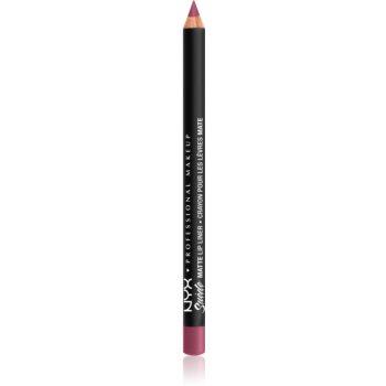NYX Professional Makeup Suede Matte Lip Liner dermatograf mat de buze poza