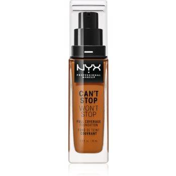 NYX Professional Makeup Cant Stop Wont Stop fond de ten cu acoperire ridicată