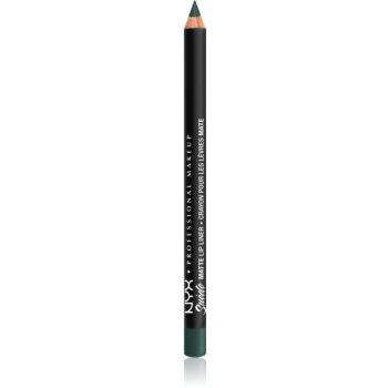 NYX Professional Makeup Suede Matte Lip Liner dermatograf mat de buze poza noua
