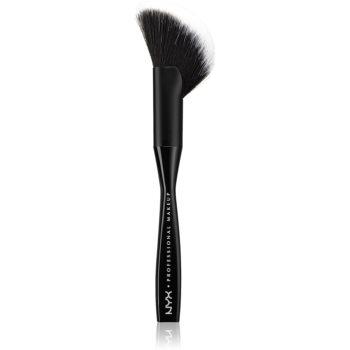 NYX Professional Makeup Face & Body perie aplicare pudră pentru fata si corp