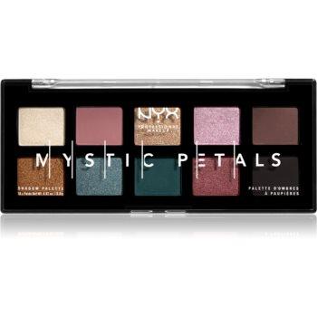 NYX Professional Makeup Mystic Petals paletă cu farduri de ochi