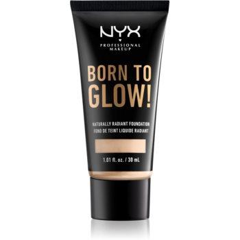 NYX Professional Makeup Born To Glow make-up lichid stralucitor poza noua