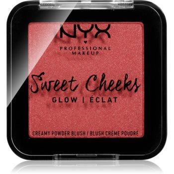 NYX Professional Makeup Sweet Cheeks Blush Glowy tvářenka odstín CITRINE ROSE 5 g