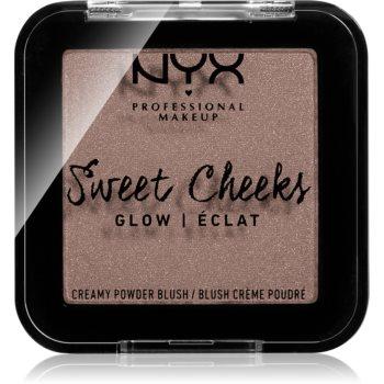 NYX Professional Makeup Sweet Cheeks Blush Glowy tvářenka odstín SO TAUPE 5 g