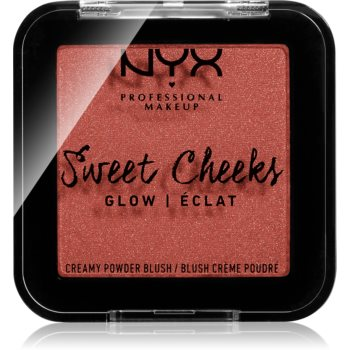 NYX Professional Makeup Sweet Cheeks Blush Glowy tvářenka odstín SUMMER BREEZE 5 g