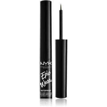 NYX Professional Makeup Epic Wear Liquid Liner tuș lichid pentru ochi, cu efect mat