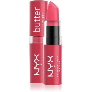 NYX Professional Makeup Butter Lipstick krémová rtěnka odstín 02 Fruit Punch 4,5 g