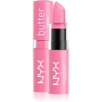 NYX Professional Makeup Butter Lipstick krémová rtěnka odstín 07 Seashell 4,5 g