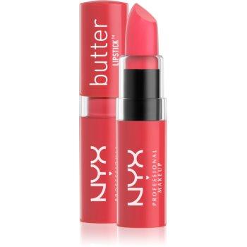 NYX Professional Makeup Butter Lipstick krémová rtěnka odstín 12 Beach BBQ 4,5 g