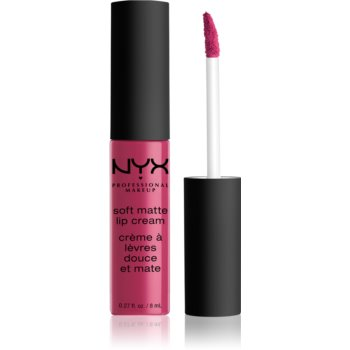 NYX Professional Makeup Soft Matte Lip Cream ruj lichid mat, cu textură lejeră imagine