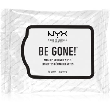 NYX Professional Makeup Be Gone! ?erve?ele demachiante pentru make-up imagine