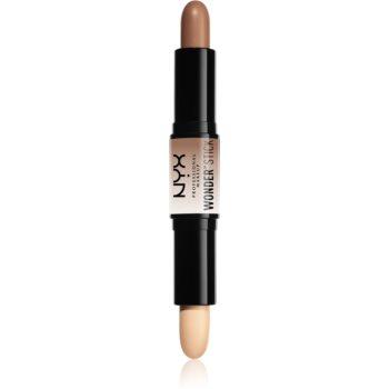 NYX Professional Makeup Wonder Stick baton pentru dublu contur poza noua