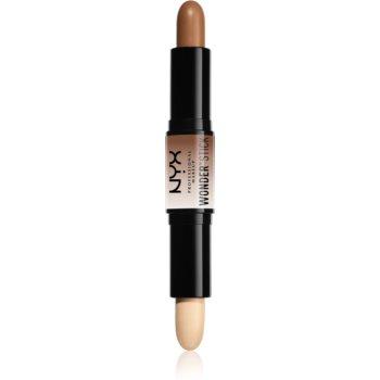 NYX Professional Makeup Wonder Stick oboustranná konturovací tyčinka odstín 04 Universal 2 x 4 g